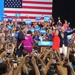 Clintons and Kaines get huge reception in Pittsburgh rally Decision2016 https://t.co/RPr1d0QH4q