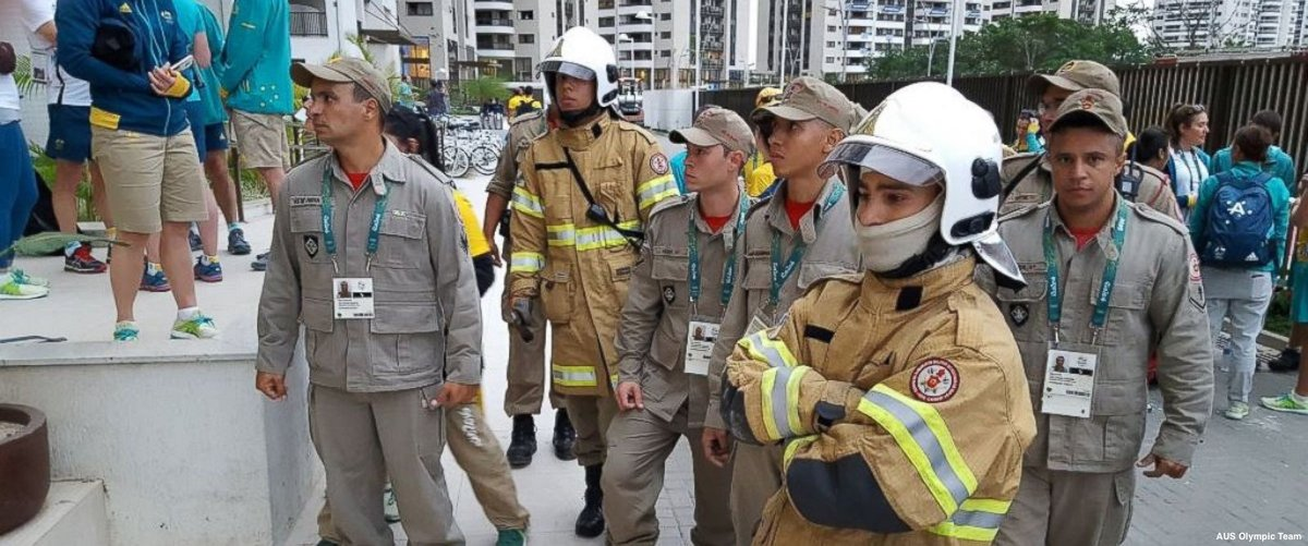 Fire in Rio's Olympic Village forces evacuation of about 100 Australian athletes, officials https://t.co/whotkpmWie