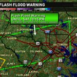 """Flash #Flood Warning for Montgomery county to Baltimore. Up to ~2"""" rain has fallen. DO NOT drive on a flooded road! https://t.co/tMg8i4rBwm"""