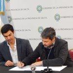 #SanLorenzo firmó el convenio con la Provincia de Salta para implementar el voto electrónico en las elecciones. https://t.co/slT73gsGTY