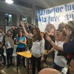"#SecundariosConCFK @CFKArgentina: ""La política es el mejor lugar para la juventud"" https://t.co/1vrx1JpGxk https://t.co/zhSEldQBF1"