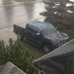 What we Canadians do during a hail storm. Haha #abstorm #yyc #calgary ⛈ https://t.co/bvdQX8SLc6