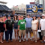 The #Padres were honored to host Wounded Warriors at BP today 👍🏼 https://t.co/5pWm2RA2Yp