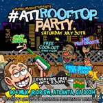 Ion Kno What the hell Yall Talm Bou #ATLRoofTopParty is wea its atTonight! Drop The Address In ya GPS EVERYBODY FREE https://t.co/0beealOCYp