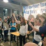 """.@CFKArgentina """"Quiero que poder elegir la vida que c/u quiere vivir siga siendo un derecho"""" #SecundariosConCFK https://t.co/Z21cflpqZm"""