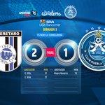 QROvsPUE | #MarcadorFinal @Club_Queretaro 2-1 Puebla 😰😰😰 #SomosCamoteros🎽 https://t.co/hp30cxcMwT