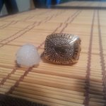 Hey @weathernetwork @CTVdavidspence ever see @calstampeders grey cup ring size hail in yyc https://t.co/MQXuPEF1PG