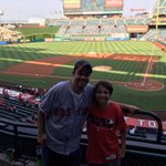 @RedSox Representing Red Sox Nation at the Angels game! Go Red Sox! https://t.co/ecxl9Y6402