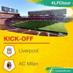 ⚽ KICK-OFF: #LFC v @acmilan is underway! ⚽ https://t.co/9aI1CwgsEH