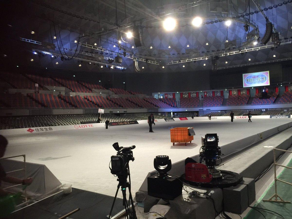 ザ・アイス2016大阪最終公演、開場中です! チュッキョも仕事としては最後の大阪公演、頑張って行きま…
