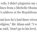 "Khizr Khan lets loose: ""Unlike Donald Trumps wife, I didnt plagiarize my speech."" https://t.co/tRNisuccEZ https://t.co/Hn90u1RPg0"