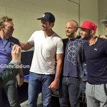 #Patriots x #Coldplay. https://t.co/SHBMR1uZhR