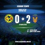 85 Recta final del partido @ClubAmerica 0-2 @TigresOficial #VamosAmérica https://t.co/4aJZXbtm5o