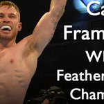 Frampton is the WBA featherwight champion. Hes beaten Santa Cruz by a majority points decision. History is made. https://t.co/PWxSK5vwTu