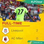 A well-deserved win for #LFC! 👏 https://t.co/Q9tCHh64UN