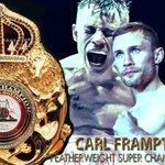 #andthenew #WBABoxing Featherweight Super Champion @RealCFrampton #SantaCruzFrampton https://t.co/vQZ2ccFc6J