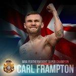 #Boxing #SantaCruzFrampton Congratulations to Carl Frampton, new WBA Featherweight Superchampion! https://t.co/S8AC6ttIWG