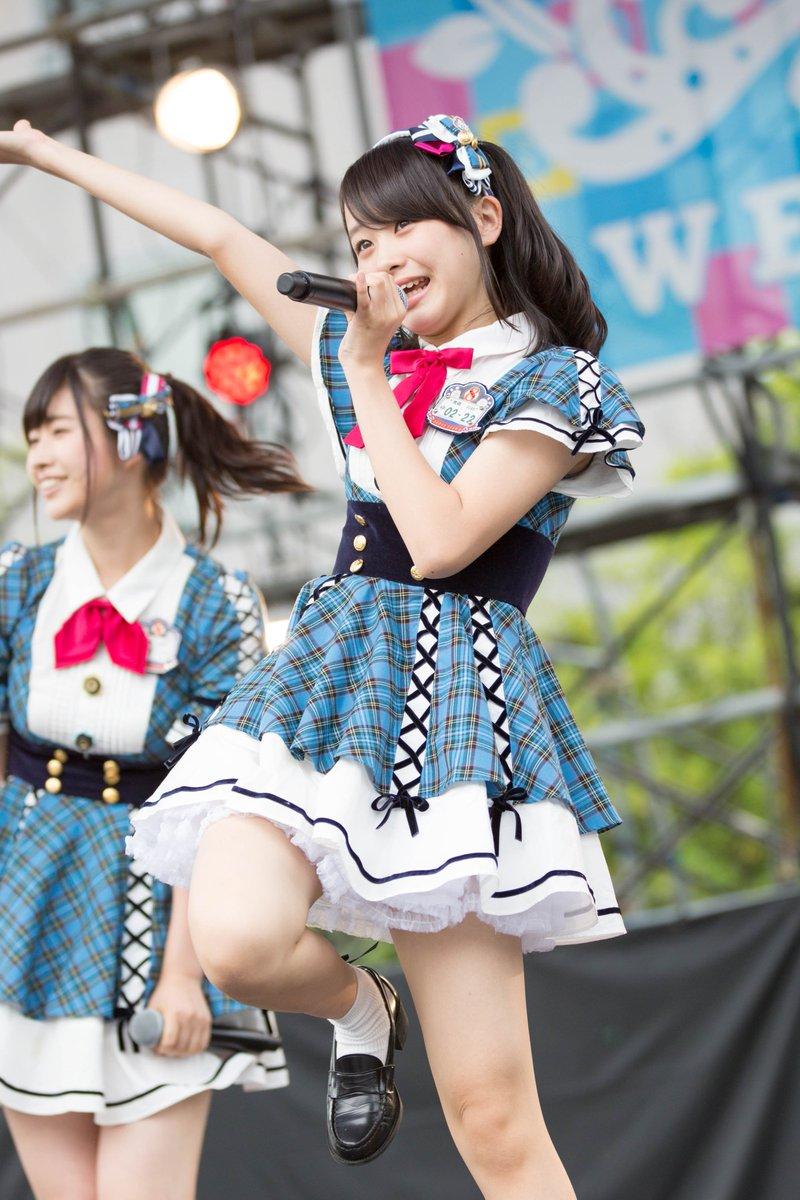 AKB48 チーム8 エロ画像 AKB48チーム8ライブ #横山結衣 · #青森県代表 よこちゃんのハーフツインめちゃくちゃかわいい! 今日もキレキレのパフォーマンス!  pic.twitter.com/LKq4LORRKI