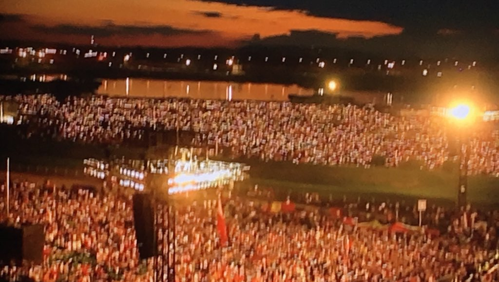 "About 40 years ago, Poland chanted: ""We want God!"" I'd say that prayer has been answered! #Krakow2016 https://t.co/IA8ou7Aorz"