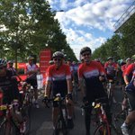 @fixingdad Geoff & Anthony Whitington starting Prudential #RideLondon-Surrey 100 @RideLondon #getfixing https://t.co/B984VrtS8t