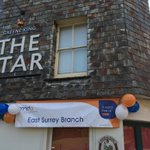 All ready at @Stardorking #Dorking to cheer on our @mndassoc riders in @RideLondon - good luck! #RideLondon #MND https://t.co/LhplwGlZ1l