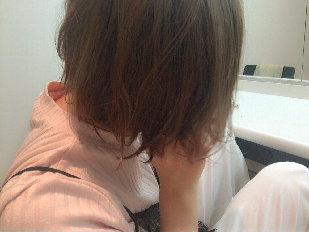 髪、染めました。  そうです、 ペールホワイトベージュです。  #kate #Yuuちゃん(@yuu…