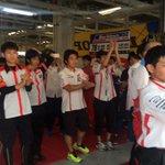 #鈴鹿8耐 マシンの修復を続けていた#78 Honda ブルーヘルメットMSC熊本&朝霞がついに再スタート!絶対にあきらめません。がまだせ熊本! https://t.co/BBV41QuV2z