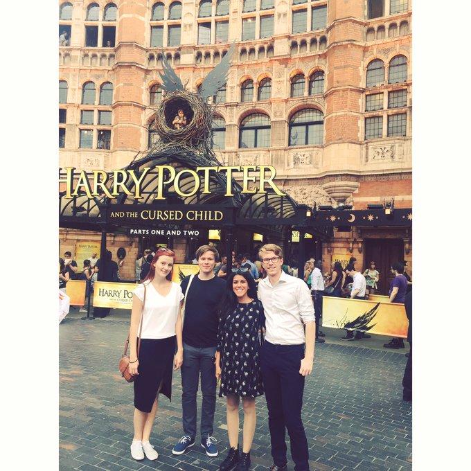 Happy birthday, Harry Potter! It was a pleasure seeing you again last week.