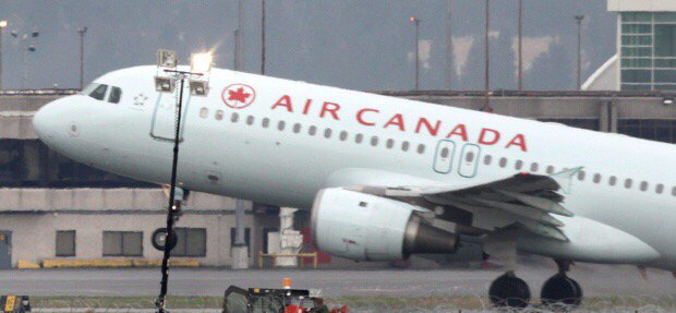 Air Canada flight diverted to Lethbridge after hail damage