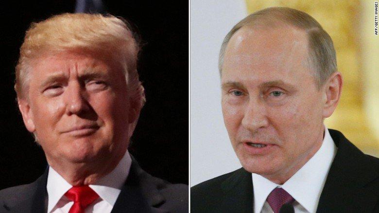 Trump says Putin is