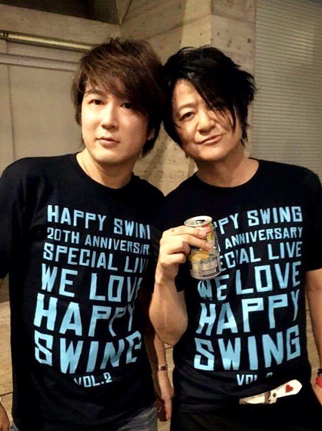 急遽アフターパーティーにTERU君、HISASHI兄さんと出る事に。  舞台裏で振り付け教わりました…