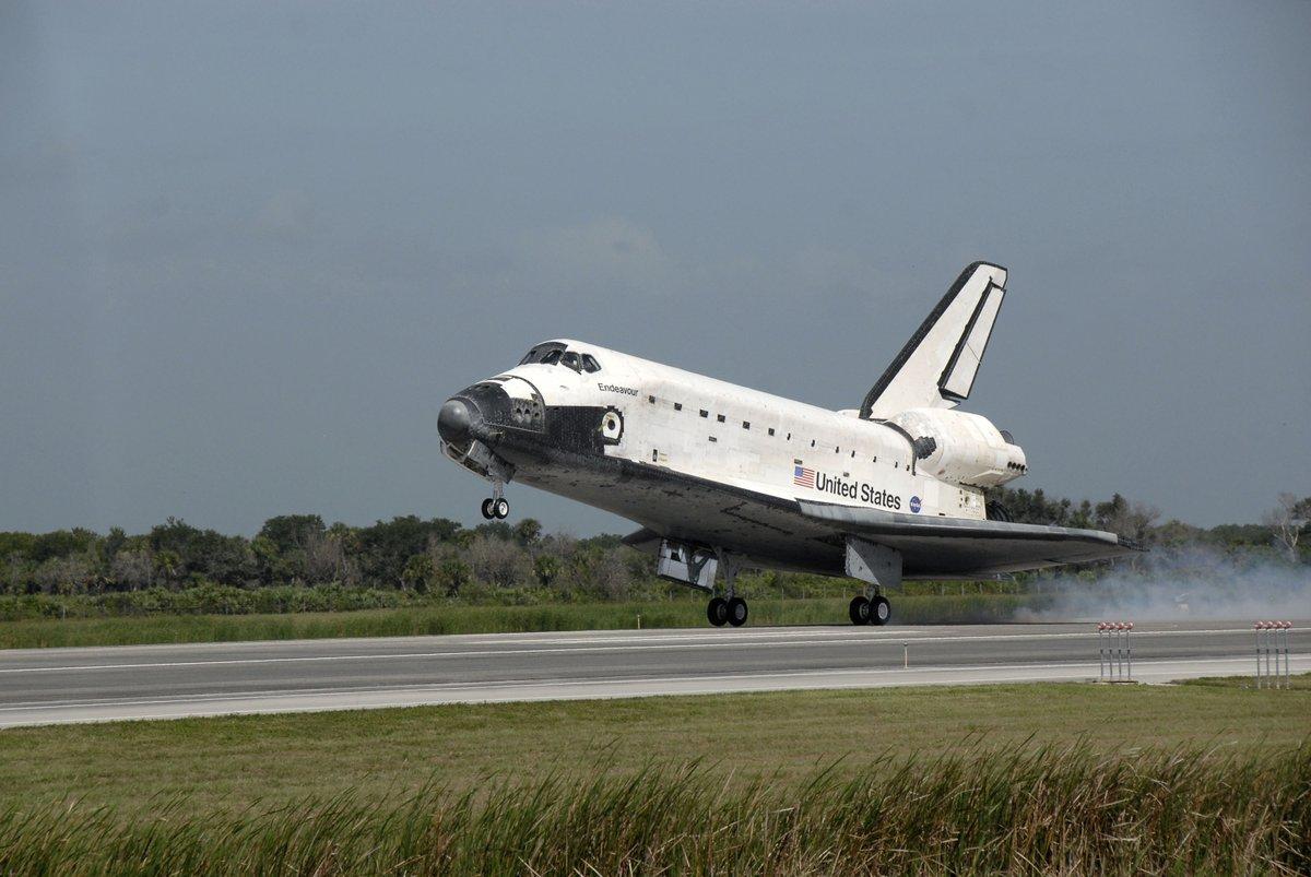 7年前の今日、4か月半のISS滞在を終えスペースシャトル・エンデバー号で地球に帰還した時の印象は今も…