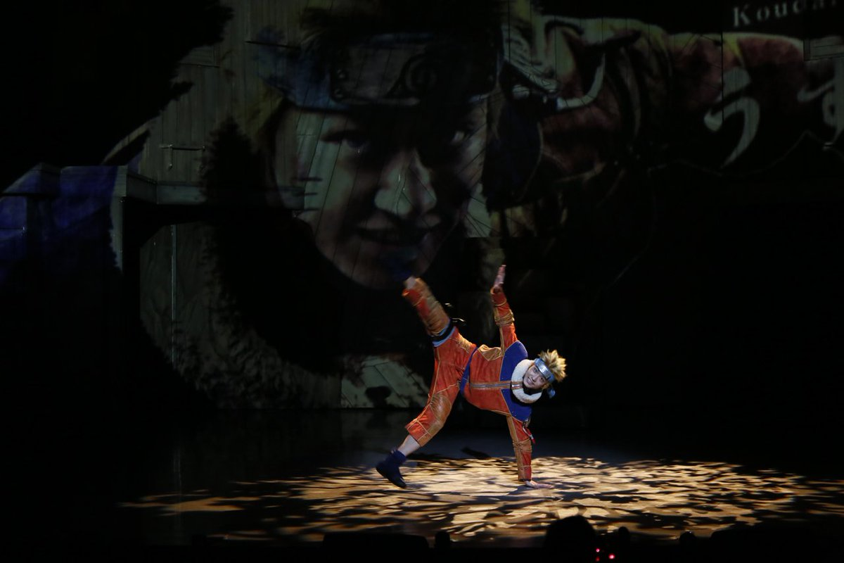 [写真追加]ロック・リーも登場の舞台「NARUTO」開幕!ビジュアルポイなど新演出もnatalie.…