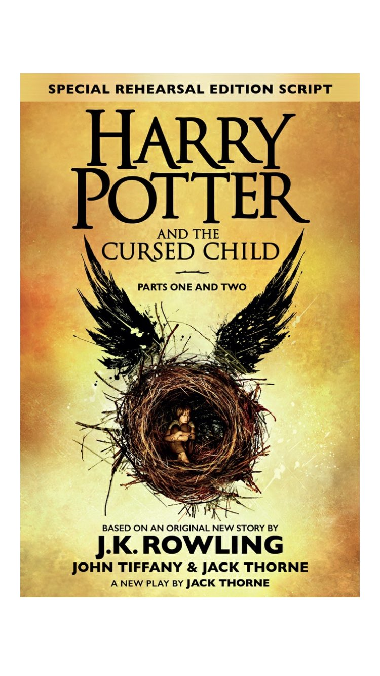 Spending the day with a few old friends. #HarryPotterAndTheCursedChild https://t.co/QPje4t0AUo