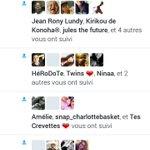 What ? Jai a peine follow @Spanzi_ mon téléphone a planté tellement jai eu des notifs mdrrr ! https://t.co/r1Rael99Sd
