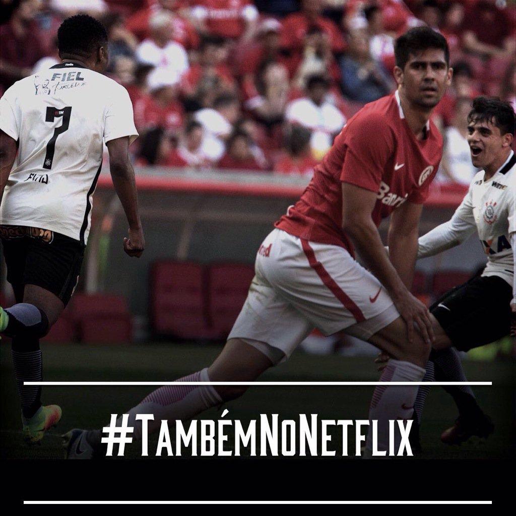 Já foi de #DVD e de cinema... #Timão bate o Inter mais uma vez e segue na luta pela liderança do #Brasileirão. https://t.co/o4UNzIhH9R