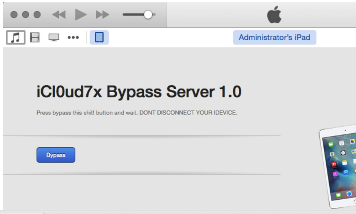 Idevices up to ios 7 1 2https t co g3pylhgvdk icloud bypass remove
