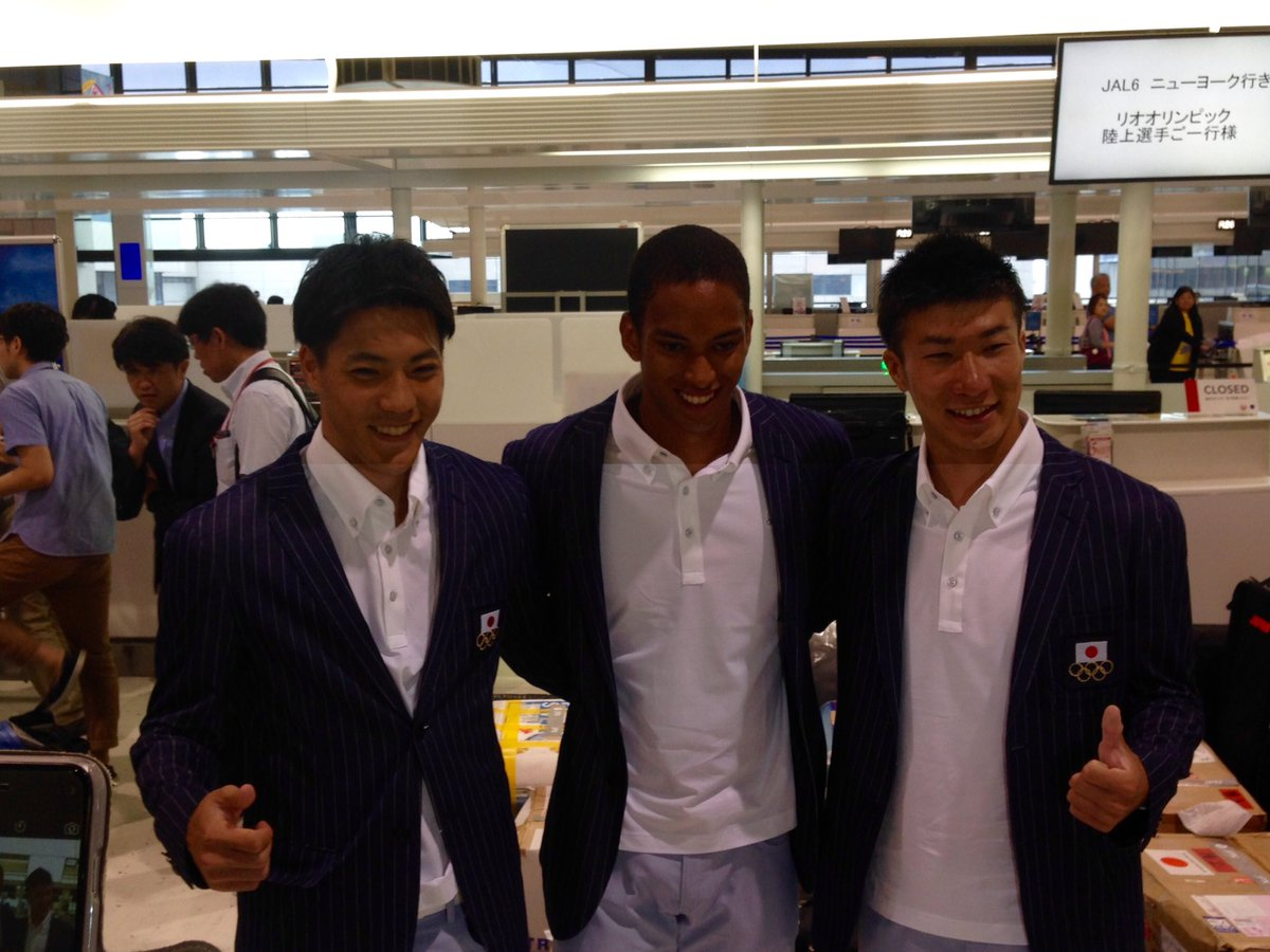 【#RoadToRio 】 男子100m! #がんばれニッポン