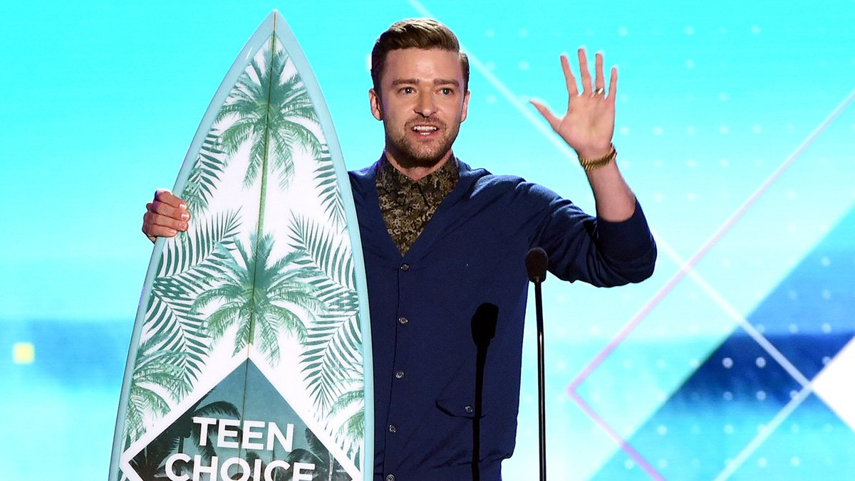 Justin Timberlake Accepts Teen Choice Decade Award: Read His Inspirational Speech