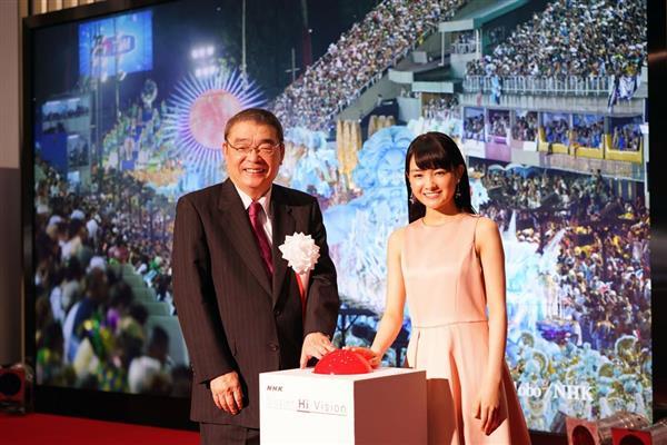 NHKが4K・8Kスーパーハイビジョンの試験放送開始 sankei.com/entertainmen…