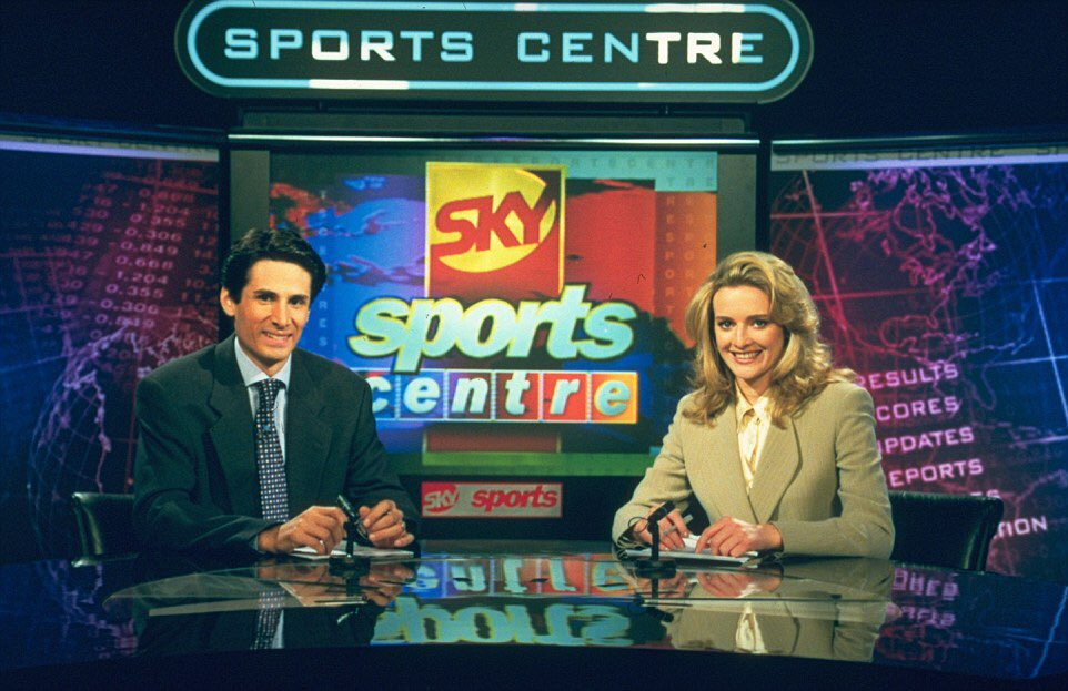 Before @SkySportsNewsHQ came October 1998 who remembers @SkySports Centre with a young @GabbyLogan August 1996 https://t.co/0yZvZBKfCJ
