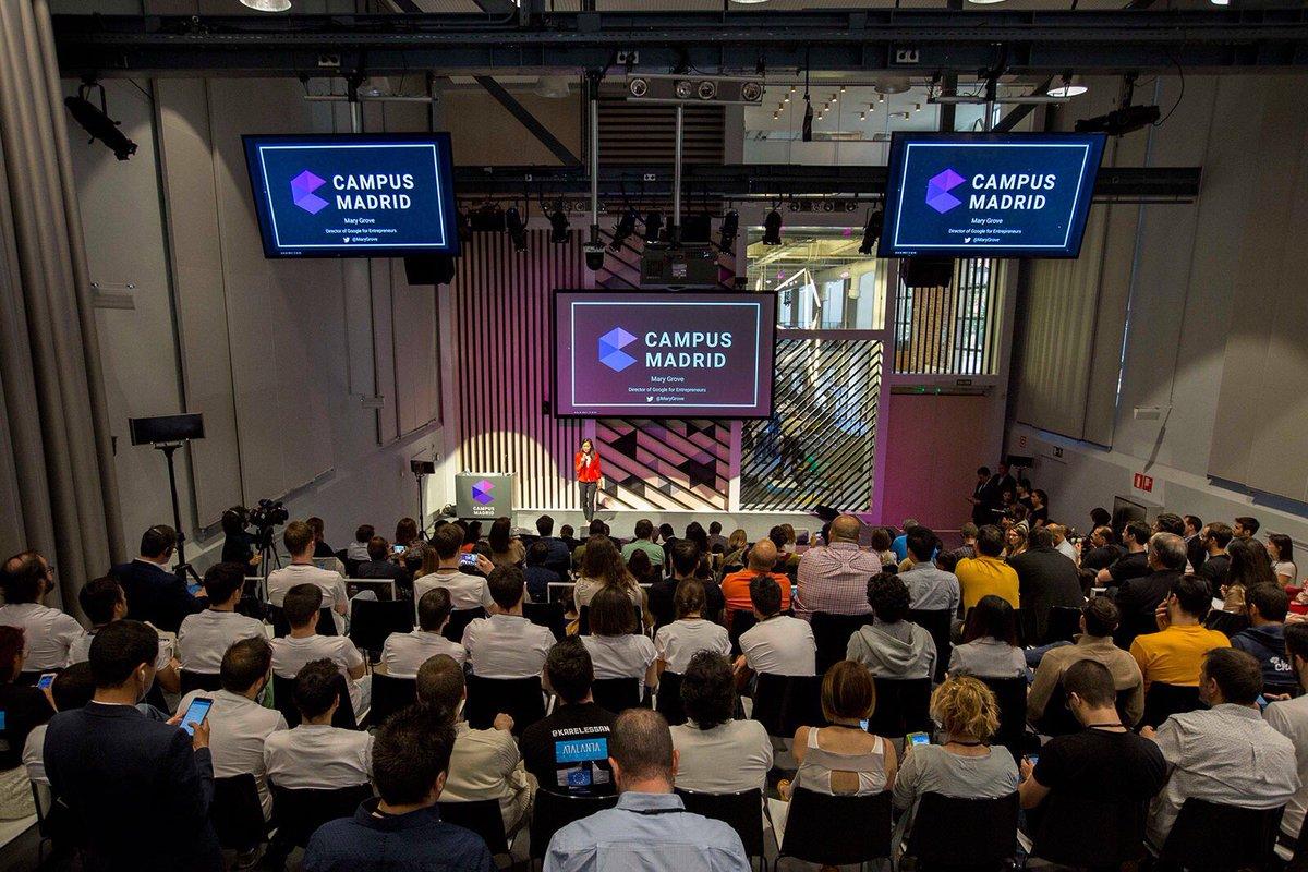 """Oportunidades para #startups en la #industria40"" @CampusMadrid 1 sept https://t.co/WvHSysJX8r https://t.co/eHL2NaaBZE"