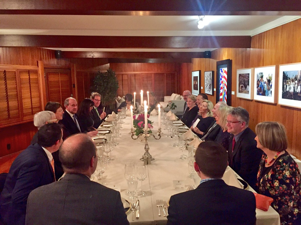 Outstanding night w/'the mayors of new zealand'! great ...