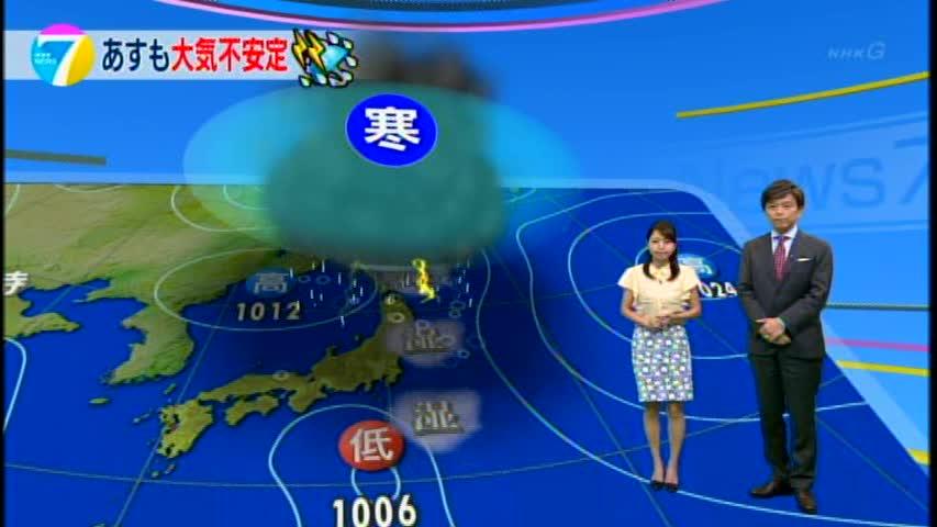 【福岡良子の気象つぶやき】 あすも東~北日本では大気の不安定な状態が続きます。 湿った空気の流れ込み…