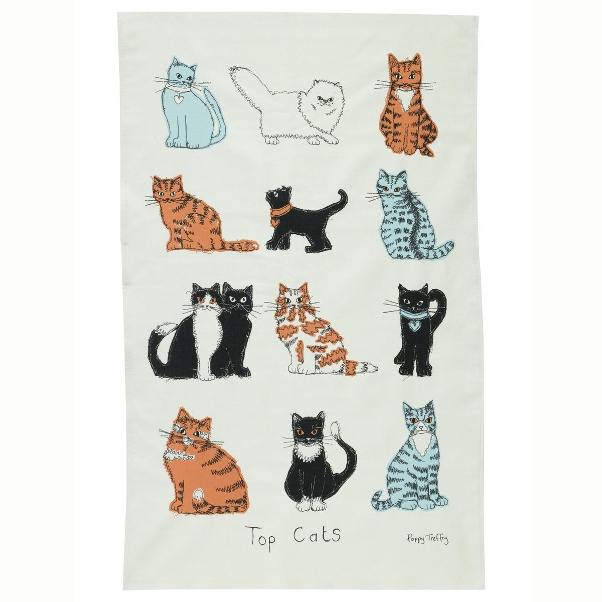 It's #competition time! Follow & RT to #win a 'Top Cats' tea towel from @PoppyTreffry ! Closes 02/08 at 1pm. https://t.co/TxSeiPYKNU