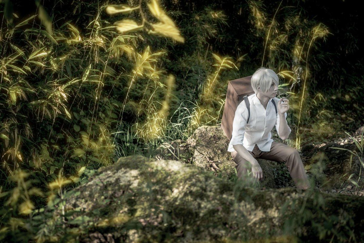 【蟲師】ギンコ※撮影:ホッスィーさん《撮影許可取得済》