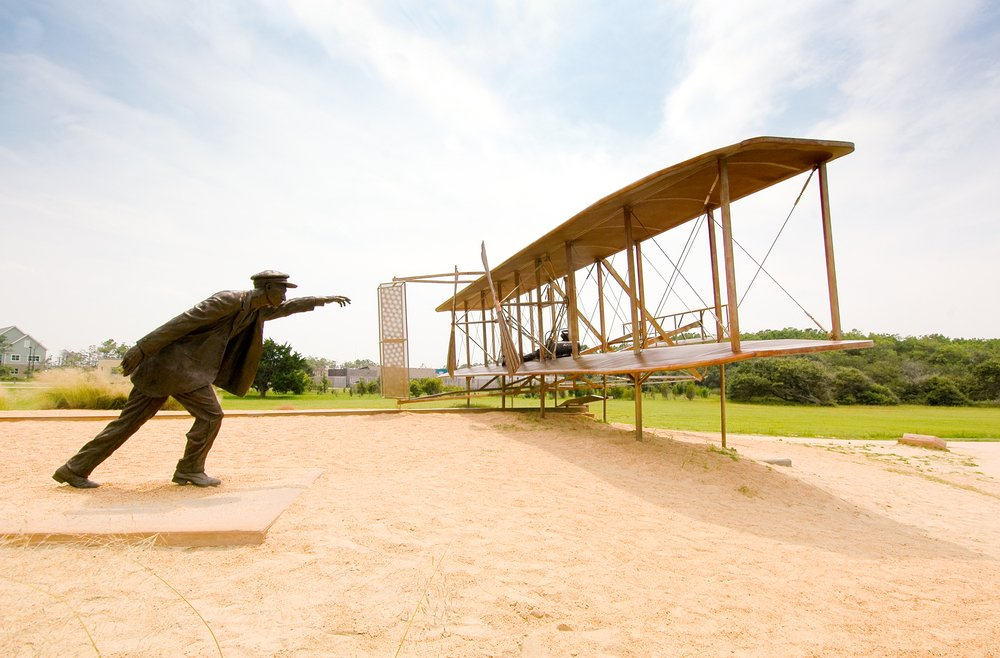 Today is NationalAviationDay set to honor the birthday of famous aviator Orville Wright.