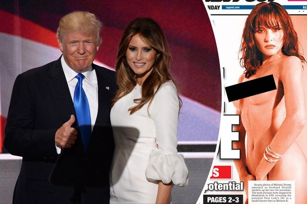 Donalds wife naked