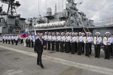 Russia is getting three new warships off Crimea this year