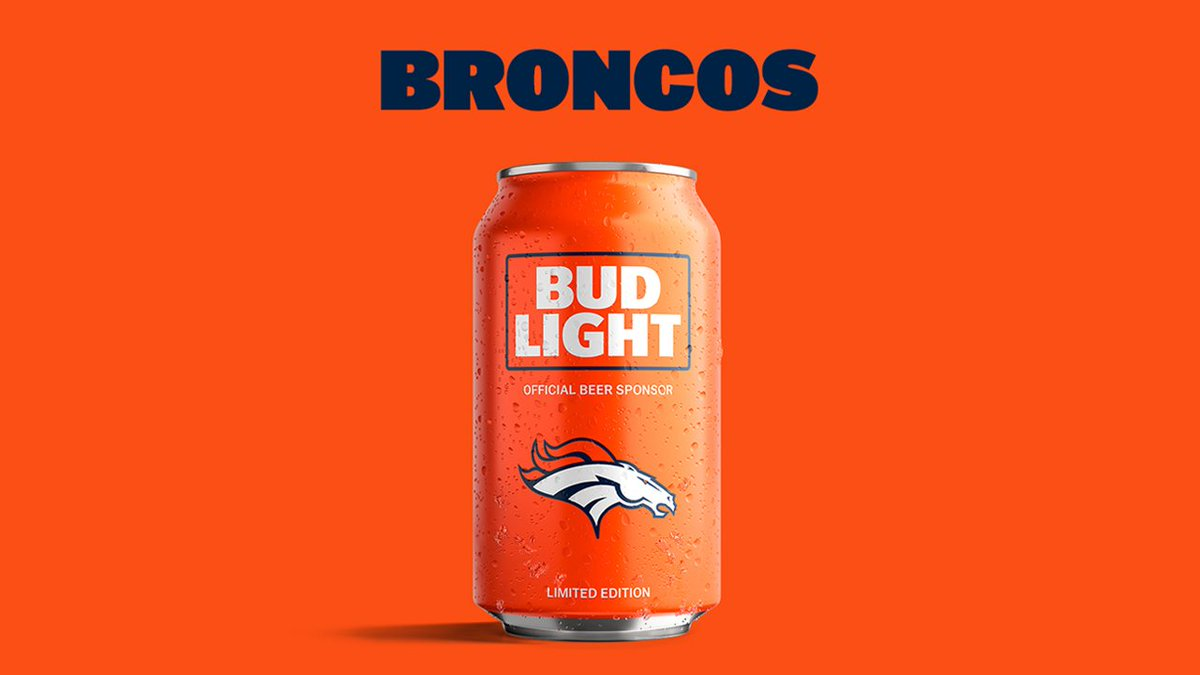 It S All About The Budlight Champican Myteamcan Https T Co Tkzrlgex3f Football Denver